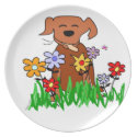 Dog Lover plate
