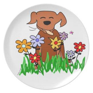 Dog Lover Dinner Plates
