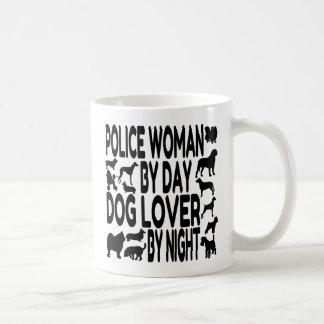 Dog Lover Police Woman Coffee Mug