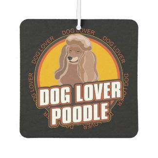 Dog Lover Poodle Dog Breed Car Air Freshener