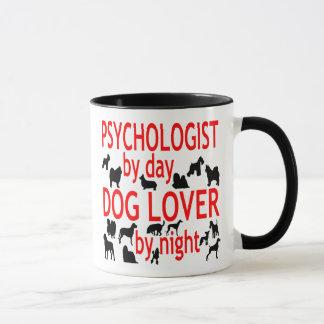Dog Lover Psychologist in Red Mug