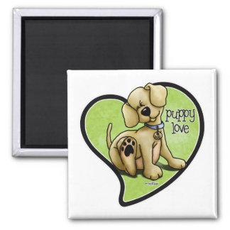 Dog Lover - Puppy Love Magnet