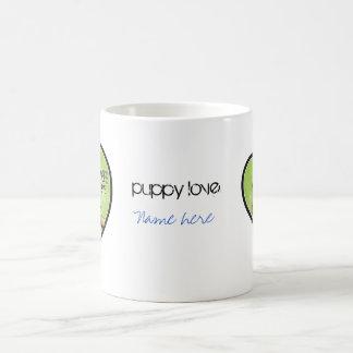 Dog Lover - Puppy Love Classic White Coffee Mug