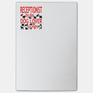 Dog Lover Receptionist Post-it® Notes