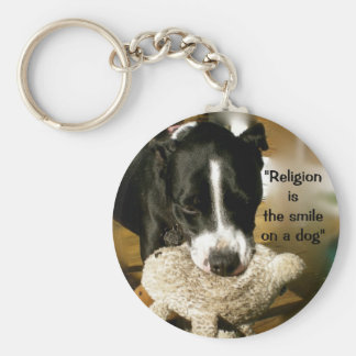 Dog Lover Rescue Pet Adoption Key Chain