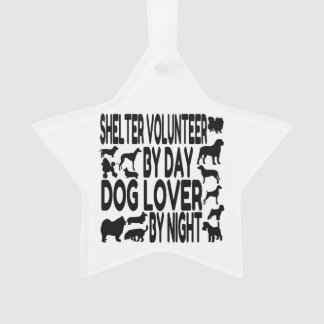 Dog Lover Shelter Volunteer Ornament