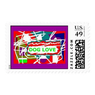 dog lover stamp