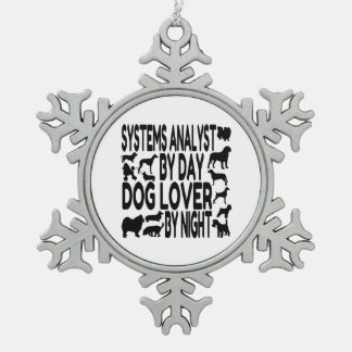 Dog Lover Systems Analyst Ornament