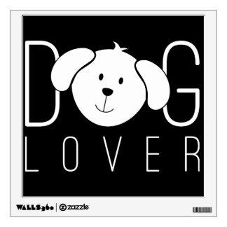 """Dog Lover"" Wall Sticker"