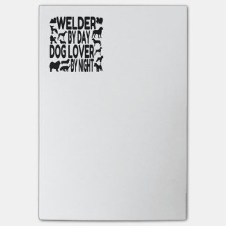 Dog Lover Welder Post-it® Notes
