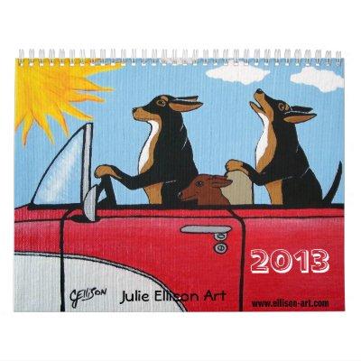 Dog Lovers Calendar 2013