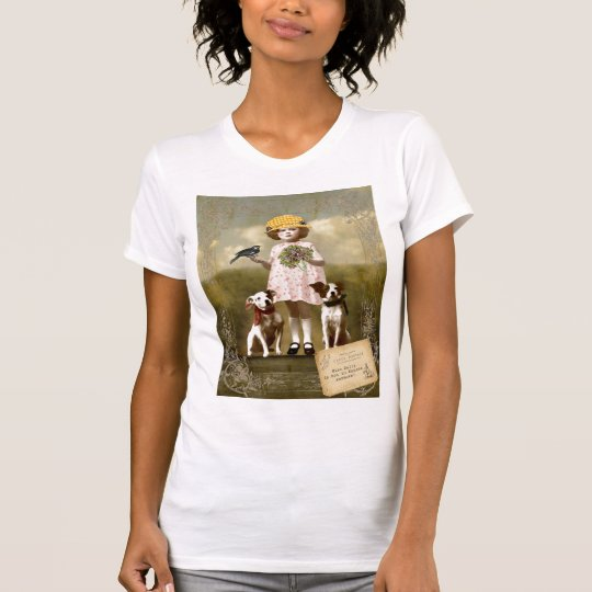Dog Lovers Cotton T Shirt with Short Sleeves