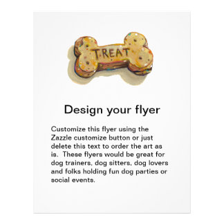 Dog lovers flyer for dogs party business class