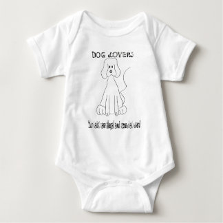 Dog-Lovers-Haters Baby Bodysuit