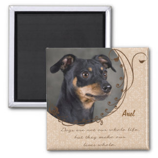 Dog Lover's Magnet Template