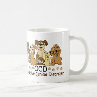 Dog Lovers Obsessive Canine Disorder Coffee Mug