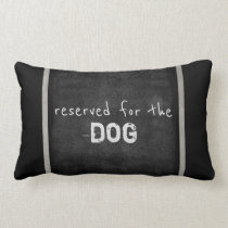 dog lovers quote pillow humor gray and white