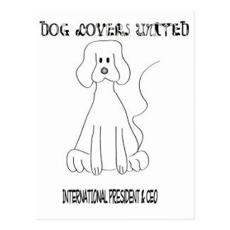 Dog Lovers United Postcard