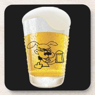 Dog Loving Beer Coaster