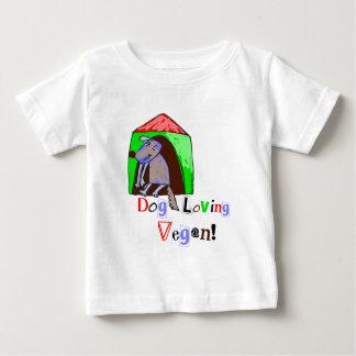 Dog Loving Vegan Baby T-Shirt