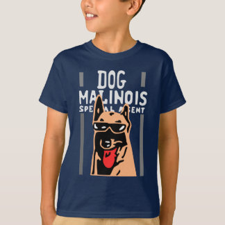 dog malinois special agent T-Shirt
