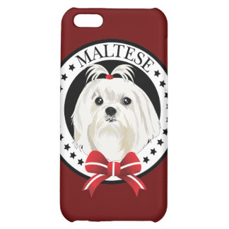 Dog Maltese Cover For iPhone 5C