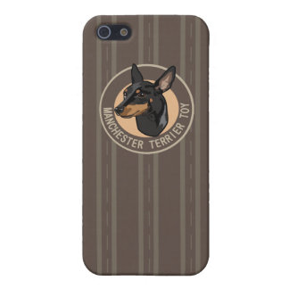Dog manchester terrier toy case for iPhone SE/5/5s