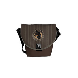 Dog manchester terrier toy courier bag