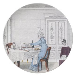 Dog Mania, plate 106 from 'Le Bon Genre, 1818 (col