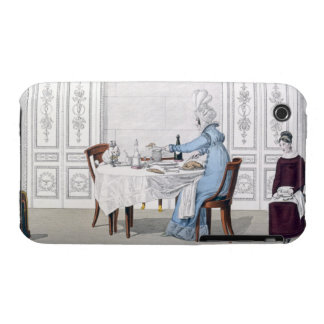 Dog Mania, plate 106 from 'Le Bon Genre, 1818 (col iPhone 3 Case-Mate Cases