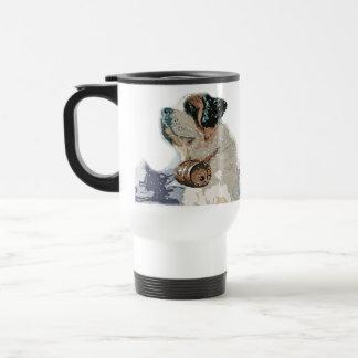 Dog Man's Drinking Buddy Travel Mug