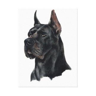 Dog Mastiff! Beautifull portrait on canvas! Buy it Canvas Print