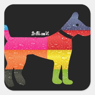 DOG MAYA AZTEC DRCHOS.COM 12 CUSTOMIZABLE PRODUCTS SQUARE STICKER