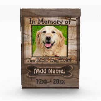 Dog Memorial Award