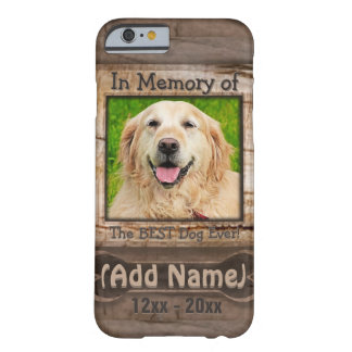 Dog Memorial Barely There iPhone 6 Case