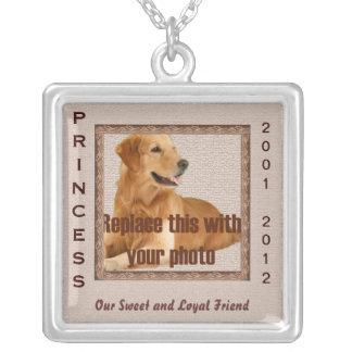 Dog Memorial Brown Tones Pendants