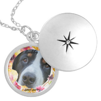 Dog Memorial Custom Photo Locket