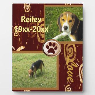 Dog Memorial Forever Friend Plaque