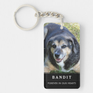 Dog Memorial KeyChain Do Not Mourn My Passing Poem