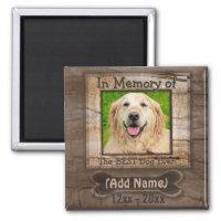 Dog Memorial Magnet