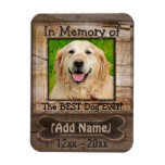 Dog Memorial Magnet at Zazzle
