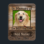 "Dog Memorial Magnet<br><div class=""desc"">A comforting Dog Memorial gift.</div>"