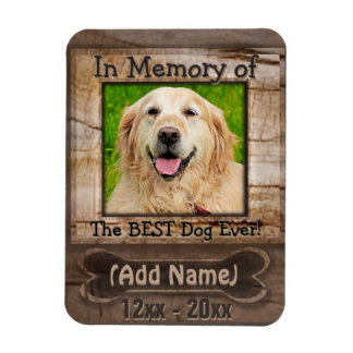 Dog Memorial Magnet