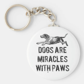 Dog Miracles Keychain