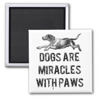 Dog Miracles Magnet