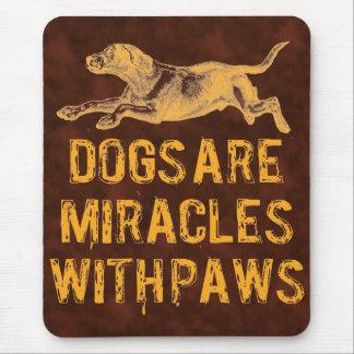 Dog Miracles Mouse Pad
