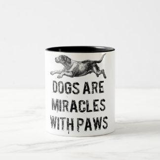 Dog Miracles Two-Tone Coffee Mug