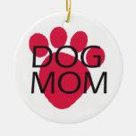 Dog Mom Christmas Ornament