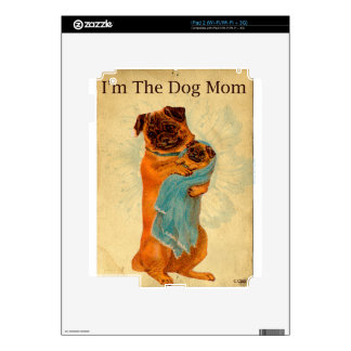 Dog Mom Decal For The iPad 2