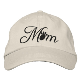 Dog Mom Embroidered Baseball Cap